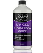 Finishing Wipe for UV Gel Nails Sticky Residue Remover Gel Brush Cleaner 100ML