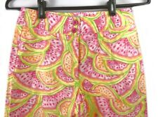 Talbots Petites 2 multicolor light weight summer stretch capris cropped pants