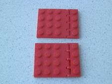 Lego 4213+4315# 4x Scharnier 1x4-4x4 Rot
