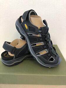 Keen Men's Rialto H2 Sandal Black/Gargoyle 1014672 Size 11