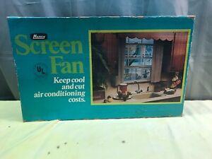 VINTAGE MARVIN WINDOW SCREEN FAN UNOPENED ORIGINAL BOX MODEL 10SF SUPER FIND