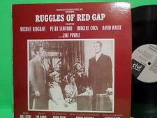 ORIGINAL SOUNDTRACK LP RUGGLES OF RED GAP PETER LAWFORD VINYL RECORD