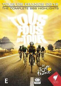 Tour De France 2012-The Complete Highlights (DVD, 2012, 3-Disc Set)-free postage
