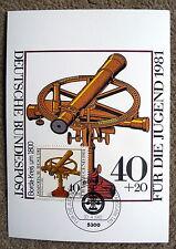 Maximumkarte Nr. 9 / 1981 mit M 1090, Borda-Kreis, Jugendmarke, Zuschlagsmarke