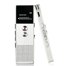 8GB Portable MP3 Music Player with FM Lossless Support up to 64 GB Silver