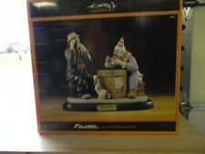 "Large Emmett Kelly Jr ""Misfortune?"" Flambro Ltd Ed Porcelain Figurine Nib"