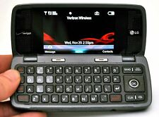 Lg Voyager Vx10000S Verizon Cell Phone Titanium Flip qwerty keyboard vCast 3G