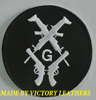 """Masonic Patch with Guns 3"""" Round Patch for sale"""