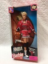 NBA CHICAGO BULLS BARBIE DOLL 1998 MATTEL SEALED EXCELLENT CONDITION