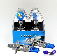 H1 55w SUPER WHITE XENON Car Upgrade HID Headlight Bulbs Main Full Beam ELITE B