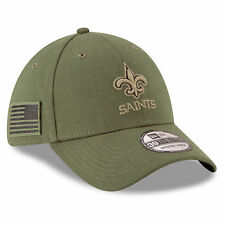 377f2349775fe NEW ORLEANS SAINTS 2018 NFL NEW ERA 39THIRTY SALUTE TO SERVICE SIDELINE HAT  M L