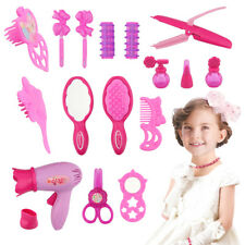 Hairdryer Mirror Beauty Toys Kit Salon Beauty Case Box Play set Toy Assorted