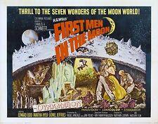 FIRST MEN IN THE MOON ( DVD) 1964 SCI-FI H. G. WELLS ANTIGRAVITY MOON TRIP
