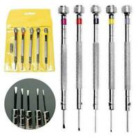 5pcs Repair Precision Tool Kit Screwdriver Set for Watch Jewelry Watchmaker New