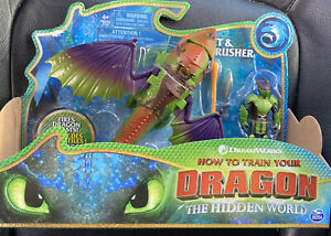 How to Train Your Dragon The Hidden World  Eret and Skullcrusher Action Figures