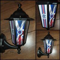 Scottish football Glasgow Rangers light pub lantern  bar light Rangers man cave
