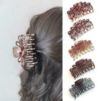 Women Large Plastic Hair Claws Hair Clips Girls Hairpins Claws Clamp Jaw R9 S6H5