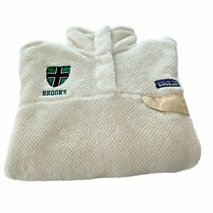 Patagonia Womens Medium White Snap T Fleece Jacket Pullover Sweater 25441 11