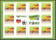 Bund MH 88 II ** Fußball 2012  10 x Nr. 2936 Bild auf der Deckelseite breiter !!