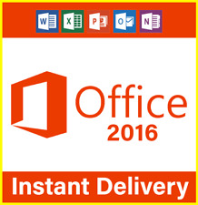 Microsoft®office 2016 professional plus 32/64 bit license key instant delivery