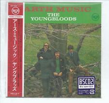 The YOUNGBLOODS Earth Music JAPAN mini lp cd Blu-spec CD2/BSCD2 / SICP-30555 NEW