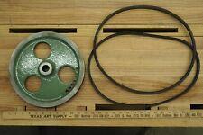 "13"" South Bend Lathe Countershaft & Motor Pulley Set + 2 V-Belts P/N AS2547T2"