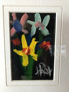 Pro Hart Painting - Floral