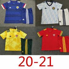 Kids Football Kits 20/21 Children Football Kits Custom Name & Number socks 20-21