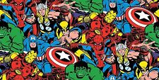 MARVEL COMIC PACKED FABRIC CP56140