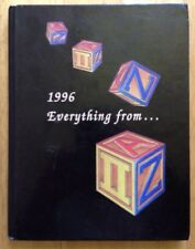 1996 CHIPPEWA HILLS HIGH SCHOOL YEARBOOK, REMUS, MI, MICHIGAN