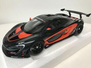 1/18 AUTOart McLaren P1 GTR Dark Grey with Orange Accents 81543 Composite