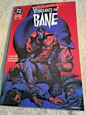 Comic Book - Batman Vengeance of Bane - DC, #1, 1993 - 64 Pg Special - VG - I585