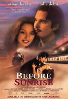 70292 Before Sunrise Movie Ethan Hawke, Julie Delpy Wall Print POSTER Plakat