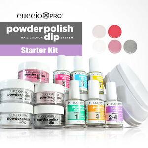 CUCCIO PRO Powder Polish Dip Kit ACRYLIC NAIL DIPPING SYSTEM STARTER KIT nails