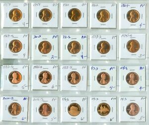 (20) PROOF LINCOLN CENTS (2024320)