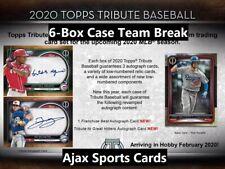 2020 Topps Tribute Baseball NEW YORK METS 6-Box Case Team Break