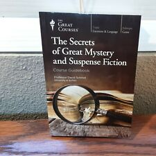 Great Courses:The Secrets Of Great Mystery and Suspense Fiction Course Guidebook