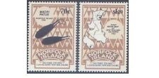Norfolk Island 1993 CONTRACT with NZ (2) Unhinged Mint SG 560-1
