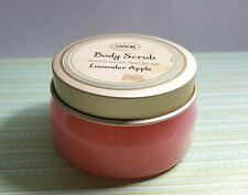 SABON Body Scrub LAVENDER APPLE Scent With Natural Dead Sea Salt 200gr 7oz