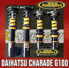 YELLOW-SPEED COILOVERS SUSPENSION DAIHATSU CHARADE G100 87-89 yellowspeed