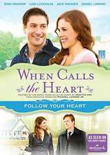 New: WHEN CALLS THE HEART - Follow Your Heart (Hallmark) DVD