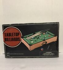 Tabletop Billiards  Pool Table and Accessories 20 x 12 x 3.5 Inches Kids Games
