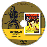 Blackboard Jungle (1955) - Glenn Ford, Anne Francis - Crime, Drama DVD