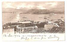 3207.-VIGO -Vista general de la Guía de Vigo (Enviada a London en 1902)