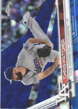 CHRIS HATCHER 2017 TOPPS CHROME SAPPHIRE EDITION #325 ONLY 250 MADE