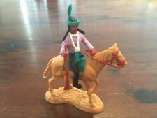 Timpo Mounted Indian - Standing Horse - Wild West - 1970s