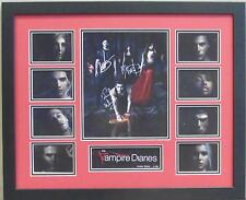 THE VAMPIRE DIARIES SIGNED LIMITED EDITION FRAMED MEMORABILIA