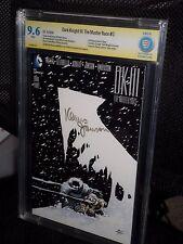Dark Knight Master Race DK3 #3 CBCS 9.6 SS Signed Klaus Janson CGC Batman