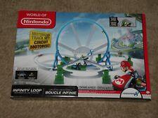 Mario Kart 8 Motorized Track Set ~ Infinity Loop ~ 2014 WORLD OF NINTENDO ~ MIB