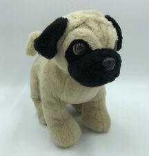 Build a Bear Pug Plush 2013 Wrinkly Puppy Dog BABW Tan Black Stuffed Animal 16